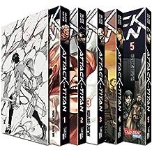 Attack on Titan, Bände 1-5 im Sammelschuber mit Extra