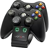 Venom Twin Charging Cradle: Black (Xbox