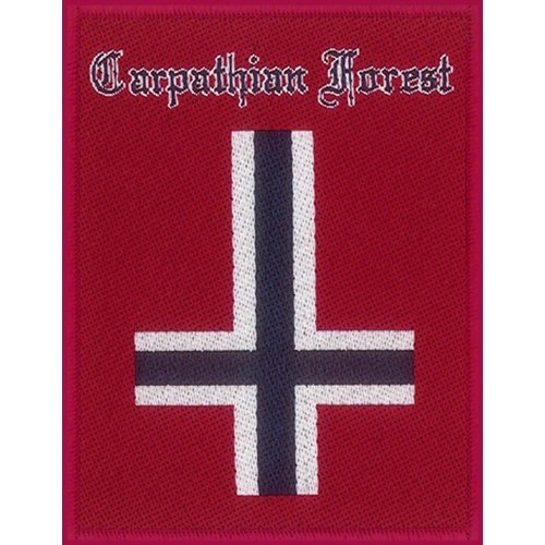 Carpathian Forest - Patch Norway (in 9 cm x 7 cm)