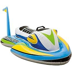 Intex - Moto acuática hinchable Intex para niños - 117x77 cm - 57520NP