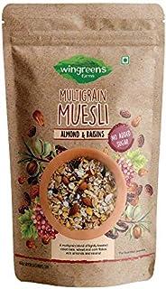 Wingreens Farms Multigrain Muesli - Almonds & Raisins (No Sugar Added) (4