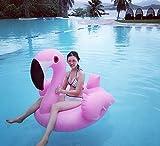 Juguetes gigantes de natación - Balsa flotante inflable de la piscina del flamenco - Juguete inflable flotante grande de la piscina al aire libre para los adultos y los niños