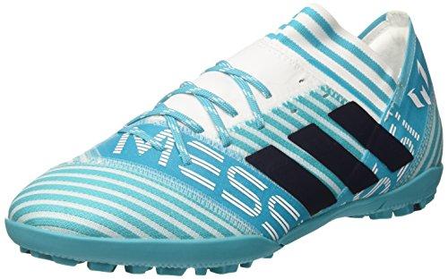 adidas Nemeziz Messi Tango 17.3 TF, Zapatillas de Fútbol Para Hombre, Multicolor (FTWR White/Legend Ink/Energy Blue), 45 1/3 EU