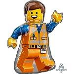 Lego-Movie-2-Pallone-Foil-Emmet-60cm-x-81cm-Multicolore-002663539042