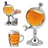 AOLVO Großer Spender für Whisky, Bier, Alkohol, Gießmaschine, Whisky-Dekanter (3500 ml)
