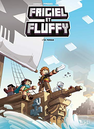 Frigiel et Fluffy T05 - L'île perdue par  Jean-Christophe Derrien, Frigiel