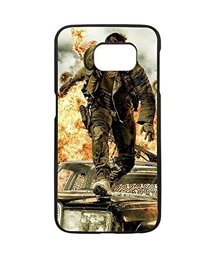 Samsung Galaxy S6 Case DC Comics Cartoon Mad Max Fury Road Logo Design, Art Design Galaxy S6 Case for Girls Protector