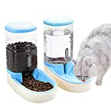UniqueFit Pets Cats Dogs Automatic Waterer and Food Feeder 3.8 L with 1* Water...
