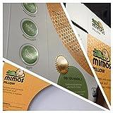 Mimos 11127353 Babykopfkissen//Zur Vorbeugung von lagebedingten Kopfverformungen//- Größe S und Größe M
