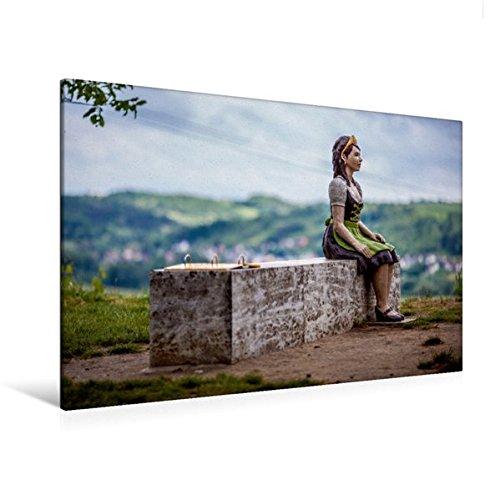 Bacchus Leinwand (Calvendo Premium Textil-Leinwand 120 cm x 80 cm quer, Sommerhausen am Main | Wandbild, Bild auf Keilrahmen, Fertigbild auf echter Leinwand, Leinwanddruck Natur Natur)
