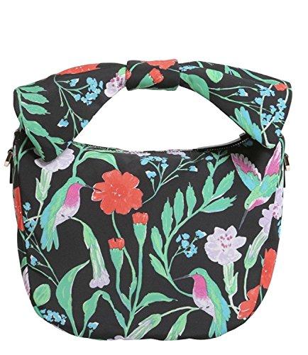Kate Spade Jeny Satchel Crossbody Haring Lane Jardin Multi Floral Handbag