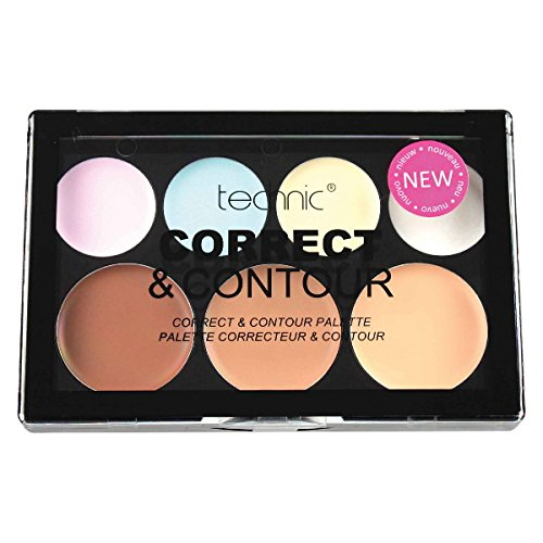 Technic Cream 7 Colour Correct & Contour Palette