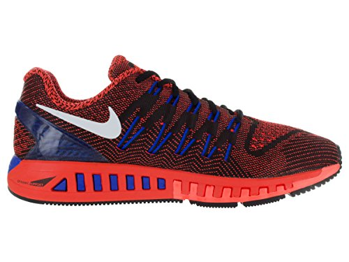 Nike Air Zoom Odyssey, Chaussures de Running Compétition Homme, Noir, Taille Noir / Blanc / Rouge / Bleu (Noir / Blanc-Ttl Crimson-Rcr Bl)