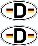 Aufkleber Deutschland Holografie 2er-Set je 55 x 30 mm Deutschland Fanartikel Olympia ~~~~~ schneller Versand innerhalb 24 Stunden ~~~~~