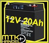 VISION CP12200 / 12V 20Ah AGM Blei Akku Batterie
