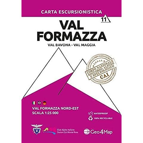 Carta escursionistica val Formazza. Ediz. multilingue: 11