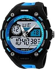La reloj/Fashion, Sports de Plein Air, reloj de alpinismo/estudiantes masculinos, multifunción, reloj electrónico personnalisée-b