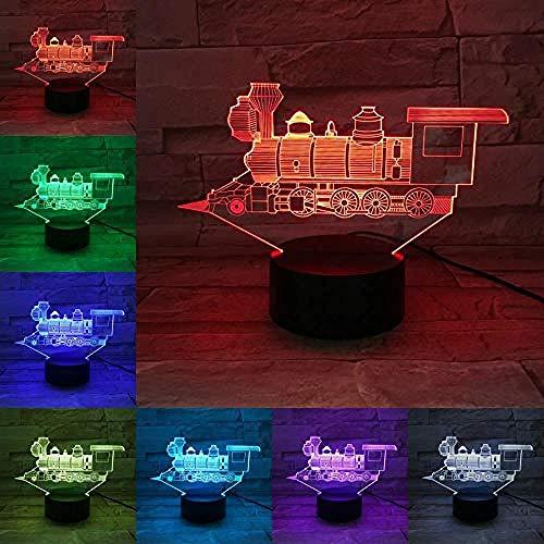 Optische Täuschung Des Sichtlicht-3D Führte Nachtlicht -3D Helles Nachtlicht Geführte Birne Gedämpfter Mehrfarbenblitz Verblaßte Holiday3D Führung Kind-Geschenk-Freunde Rgb-Neuheit -