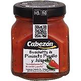 Conservas Cabezón Frasco de Bruschetta de Piquillo Y Jalapeño - 140 gr