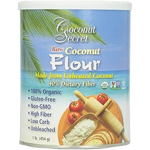 Coconut Secret, Raw Coconut Flour, 1 lb. (454 g)