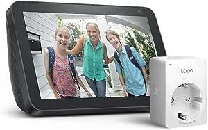 Echo Show 8 Anthrazit Stoff Tapo P100 Smarte Wlan Steckdose Funktioniert Mit Alexa Alle Produkte