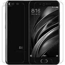 Protector de Pantalla Xiaomi Mi6, NILLKIN Protector de Pantalla de Prima de Cristal Templado Protector Alta Definicion(HD), 9H Dureza,Cristal Templado Protector de Pantalla para Xiaomi Mi6, Transparente