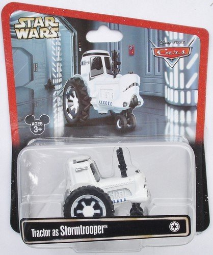 Disney Pixar Cars Star Wars Tractor as Stormtrooper 1:55 Scale Limited (Disney Stormtrooper)