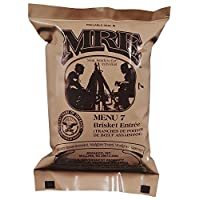 ULTIMATE MRE, Pack Date Printed on Every Meal - Meal-Ready-To-Eat. Inspected Certified Fresh by Ammo Can Man. Pack Date 8/2014 or Newer. Inspection 8/2017 or up. Genuine Mil Surplus. by Ammo Can Man 1
