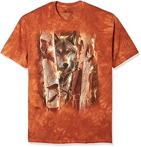 The Mountain Unisex Erwachsen Gr. 2XL The Guardian Wolfswaechter T Shirt