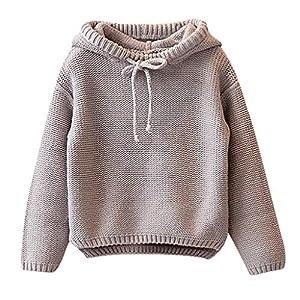 Berimaterry Jersey de Punto para Niños Niñas Suéter Chicas Chicos Navidad Ropa Bebé Niña Invierno Ropa De Punto Camiseta… 6
