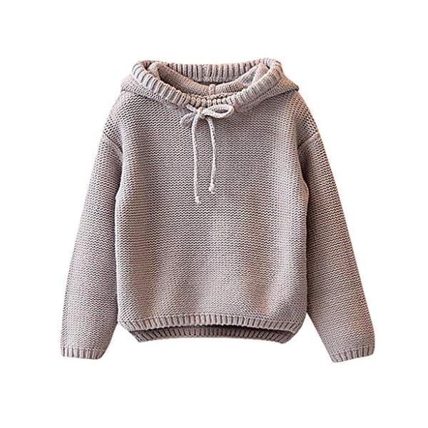 Berimaterry Jersey de Punto para Niños Niñas Suéter Chicas Chicos Navidad Ropa Bebé Niña Invierno Ropa De Punto Camiseta… 1