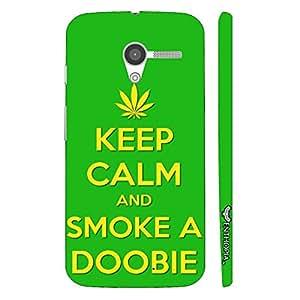Motorola Moto X SMOKE A DOOBIE designer mobile hard shell case by Enthopia