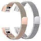 Fitbit Alta HR Armband, BeneStellar Milanese Edelstahl Uhrenarmband Mailänder...