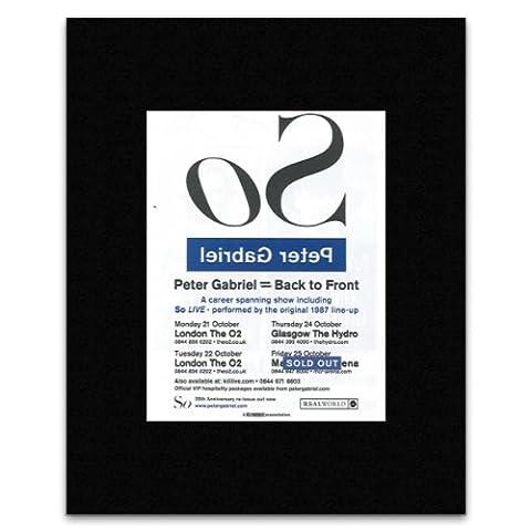 Q Musikposter, 13,5 x 10 cm