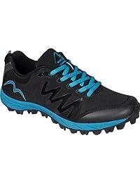 More Mile - Zapatillas para correr en montaña de Material Sintético para mujer Negro negro 37 1/3