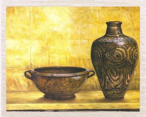 Mesleep tela di cotone multicolore stampata digitalmente senza cornice oggetti d'antiquariato quadro moderno dipinto su tela regalo articolo 23x30 pollici