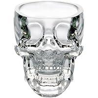 Vaso de Vidrio en Forma de Cráneo de 73ml