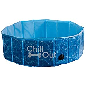 ALL FOR PAWS Piscina Plegable Chill out, Talla S, 80 x 25 cm