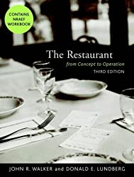 The Restaurant - from Concept to Operation 3e & Nraef Workbook Package by John R. Walker (2000-10-23)