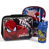 Best Spider-Man Book Bags For Boys - Spiderman Kids Back to School Bundle Bags Backpack Review