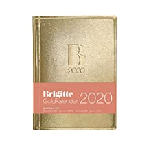 Brigitte Goldkalender 2020 - Taschenkalender - 10x14cm - Buchkalender - Organizer - Planner (Kalender)
