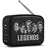 Saregama Carvaan SCM02 Mini 2.0 Bluetooth Speaker (Moonlight Black)