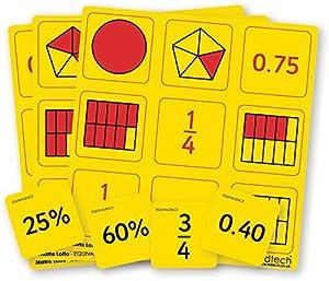 "Inspirational Classrooms 3110802 ""Equivalence Bingo Juguete Educativo"
