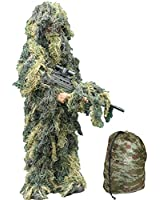 Kids Camo Ghillie Suit Ages 3 - 12 Years - Kids Army Camouflage Sniper Suit