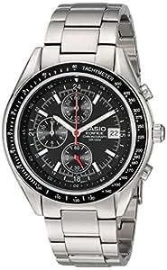 Casio Hommes EF503D-1AV Edifice acier inoxydable Montre chronographe