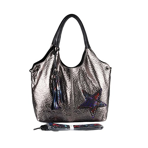 OBC Only-Beautiful-Couture, Borsa a spalla donna marrone bronzo ca.: 42x30x13 cm (BxHxT) Bronze 48x32x14 cm
