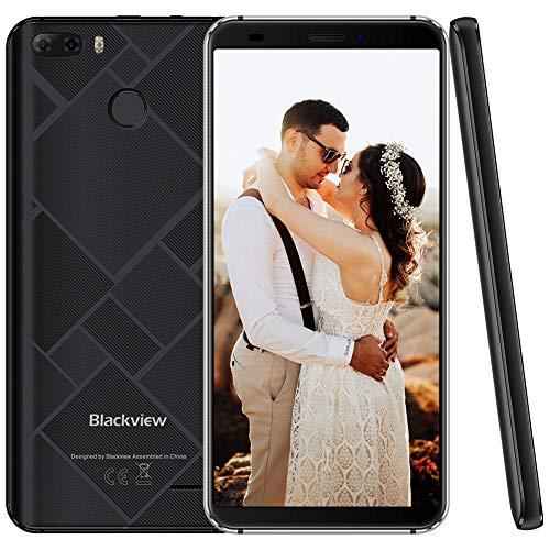 Blackview S6 4G Smartphone de 5.7' 18:9 IPS Dual SIM 2 GB RAM/16 GB ROM, 4180mAh Bateria, 8MP Cámaras, Android 7.0...
