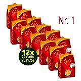 Eduscho GALA Nr.1, 32 Pads Vorteilspack, 12 x 217,6g (2611,2g) - elegant & kräftig