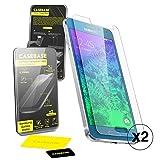 CaseBase Premium - Pellicola protettiva per Display in Vetro Temperato - Confezione doppia per Samsung Galaxy Alpha