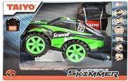 Taiyo RC AMPHIBIOUS SKIMMER BLACK / GREEN 01:20